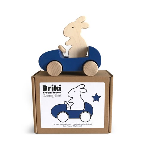 Image of Bunny Car Bleu