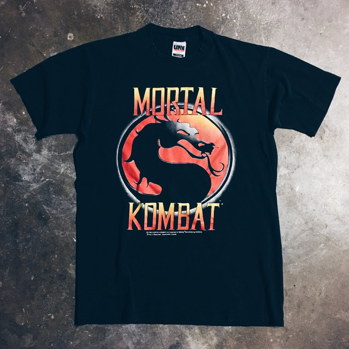 Image of Original 1992 Mortal Kombat Tee.