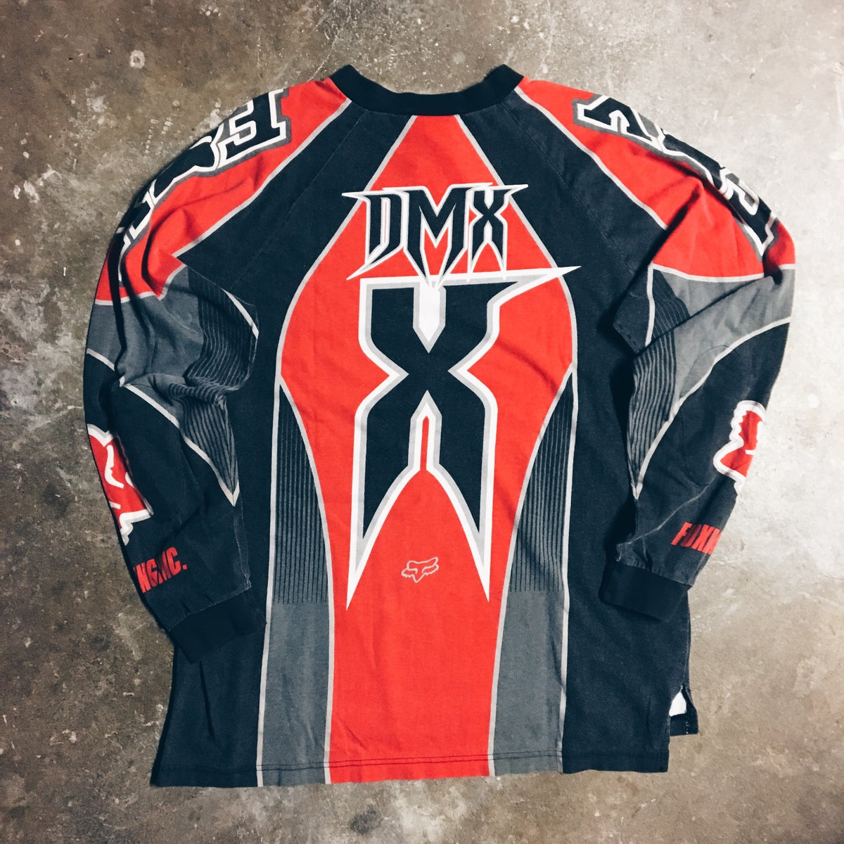Image of Original 2000 Ruff Ryders DMX Fox Racing Jersey.