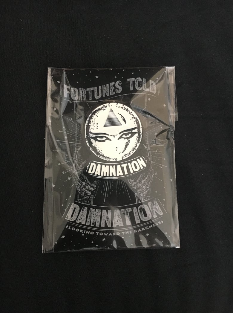 "Image of ""Fortunes Told"" enamel pin"