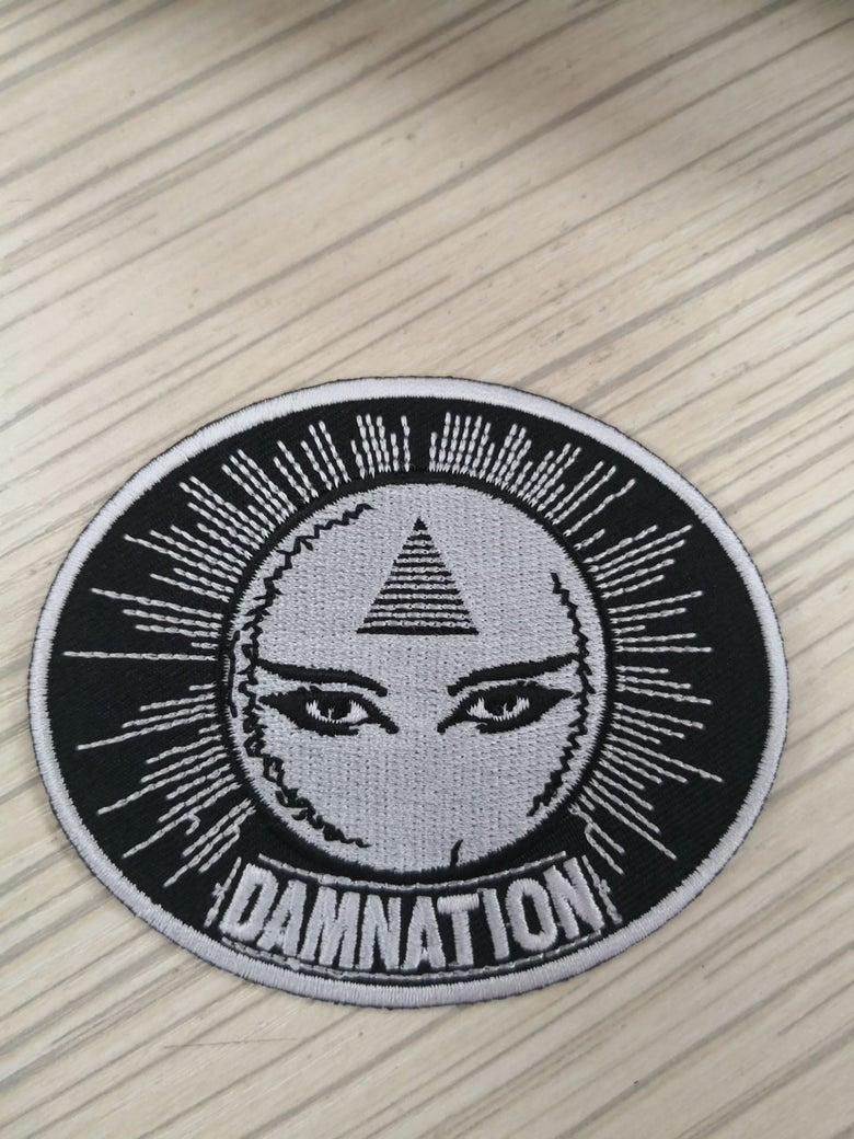 "Image of ""Fortunes Told"" embroidered patch"