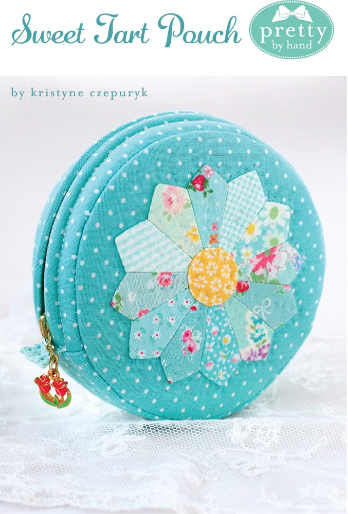Image of Sweet Tart Zippered Pouch - PDF Only