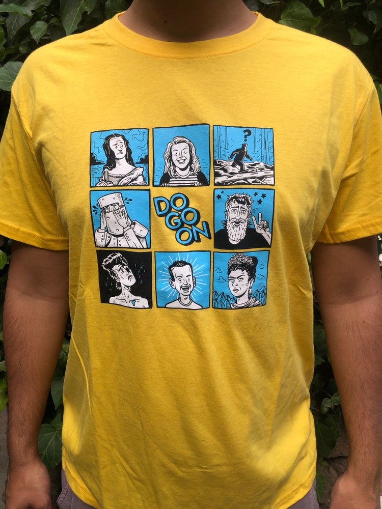 Image of Do Go On Brady Bunch - Yellow