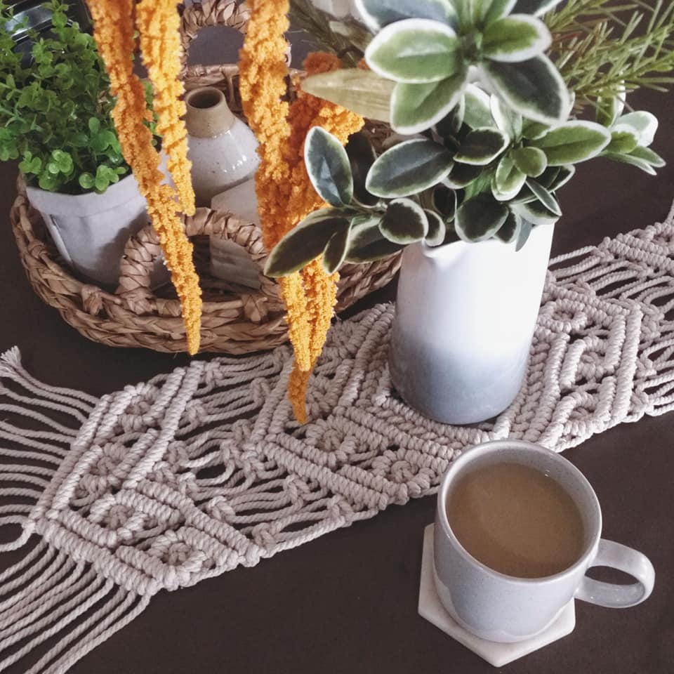 Image of Natural Table Runner