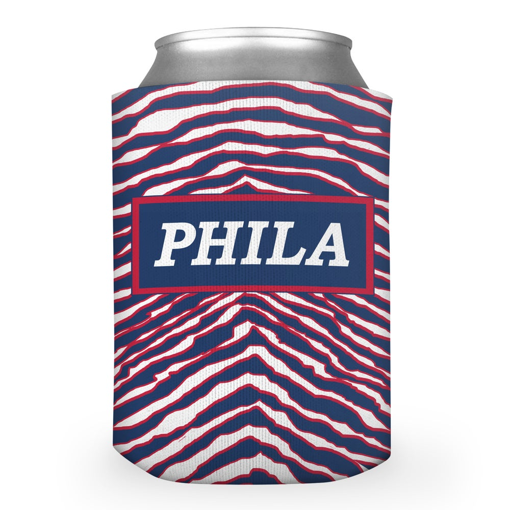 Image of 90's Phila Basketball Beer Koozie