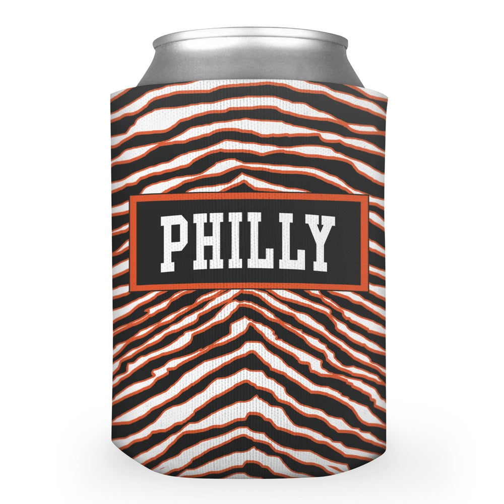 Image of 90's Philly Hockey Beer Koozie
