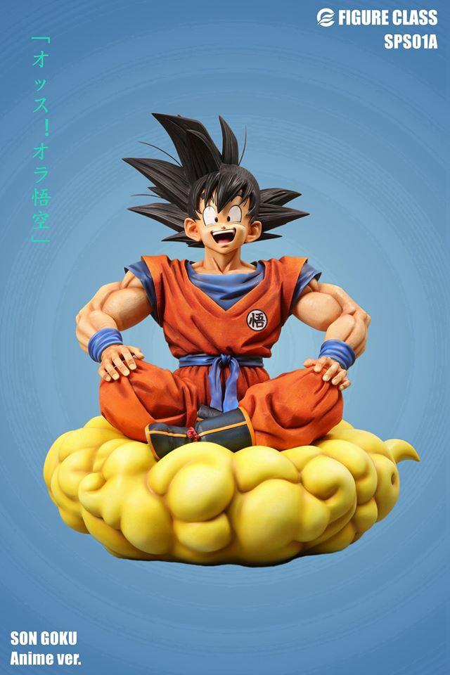 Image of Figure Class Goku sitting on Nimbus 1/3 Anime Version
