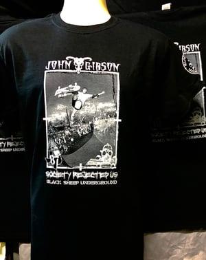 Image of John Gibson Pro Black ts ** NEW**
