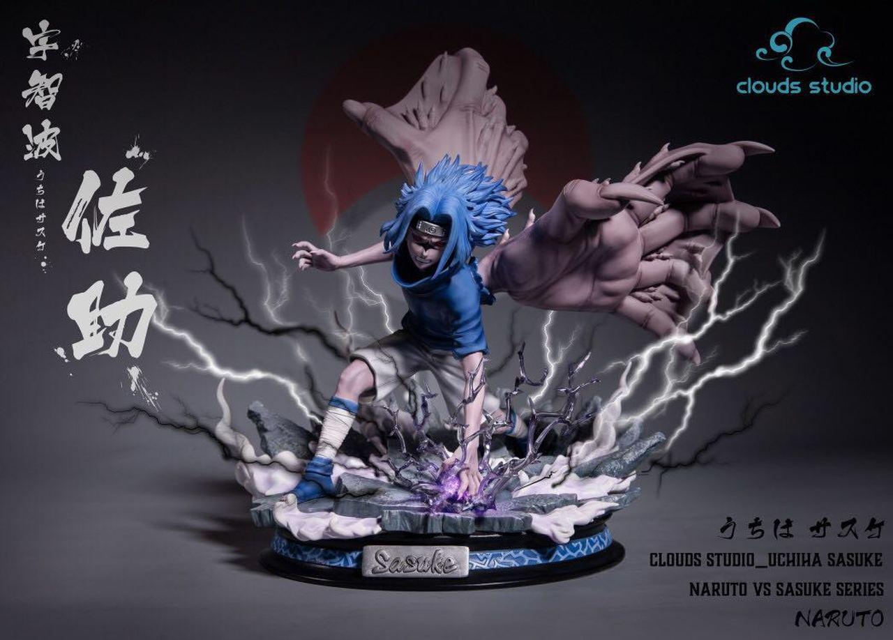 Image of Cloud Studio Cursed Mode Sasuke LED VS Series 1/6