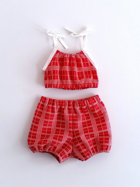 Image of Cinnamon Heart Playsuit