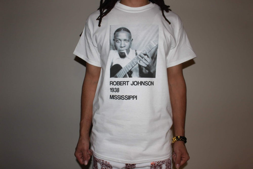 Image of Robert Johnson 1938 Tour Shirt