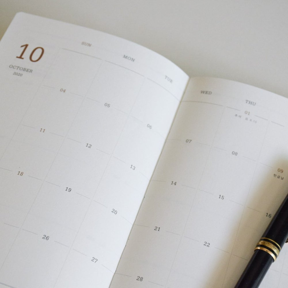 Image of Personalised 2020 Indigo.co Planner
