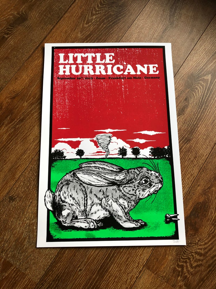 Image of Little Hurricane Poster Frankfurt 2019