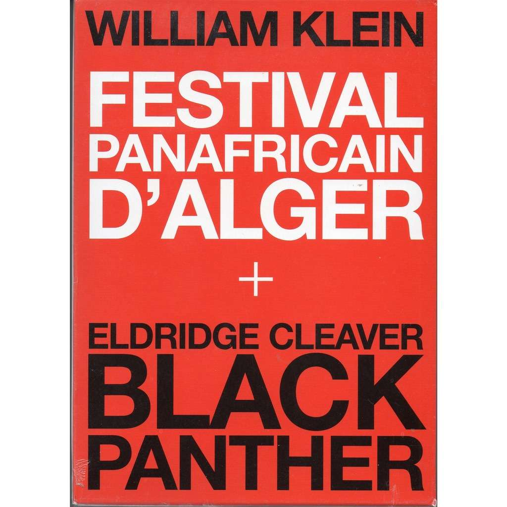Image of DVD COFFRET WILLIAM KLEIN Documentaire FEST PANAFRICAIN, BLACK PANTHER