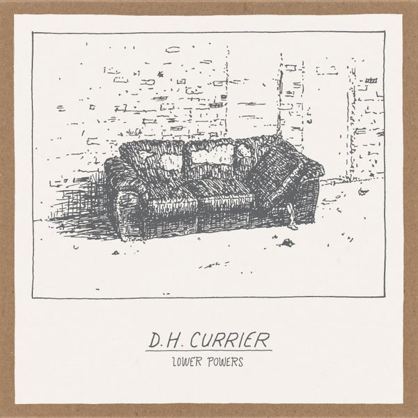 "Image of D. H. Currier ""Lower Powers"" 7"" EP • Ltd. Edition Vinyl Record"