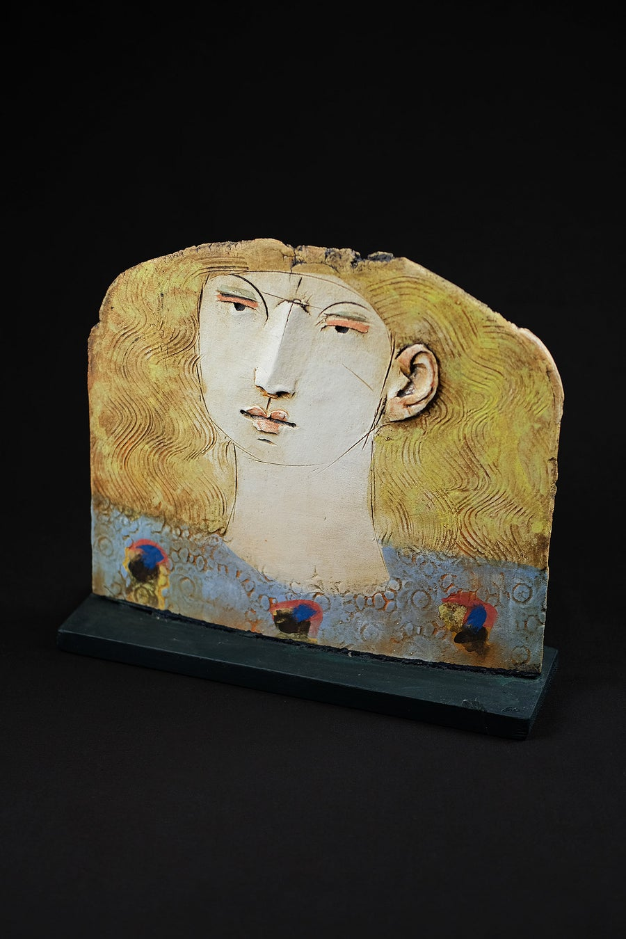 Image of CHRISTY KEENEY - 'WOMAN OF GALWAY' SCULPTURE