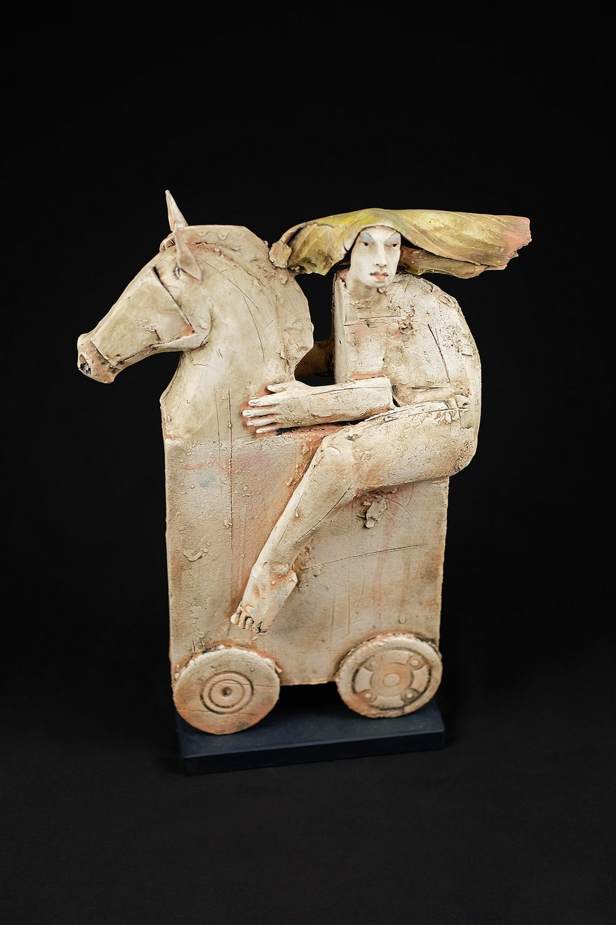 Image of CHRISTY KEENEY 'LADY GODIVA' CERAMIC SCULPTURE