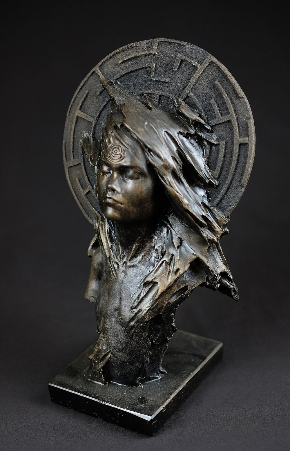 Image of PATRICK BERTHAUD 'UNE FORET SANS ARBES' SCULPTURE