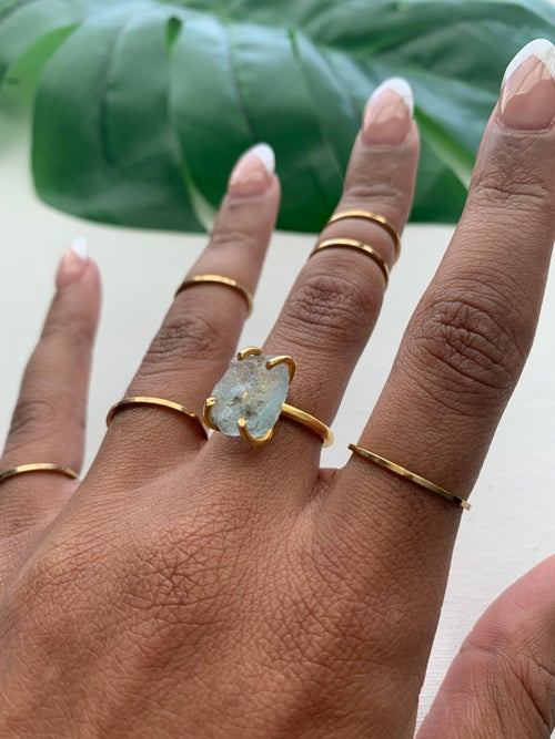 Image of BASIC BELLA • Thin ring set