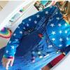 Adults Star Print Long Sleeve Top