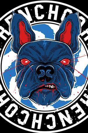 Image of Frenchcore Bulldoge - Zip Hoodie