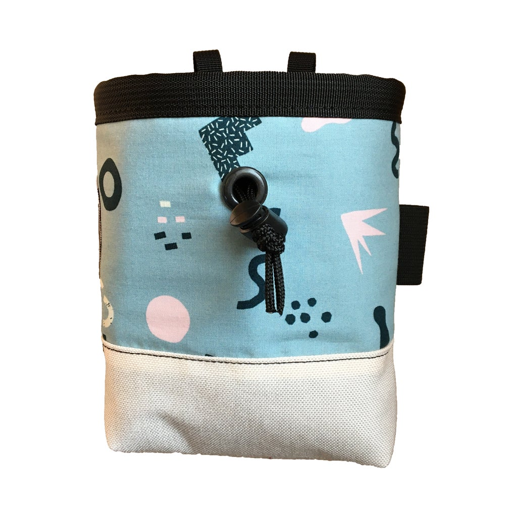 80's Aesthetic Chalk Bags (Pattern Options)