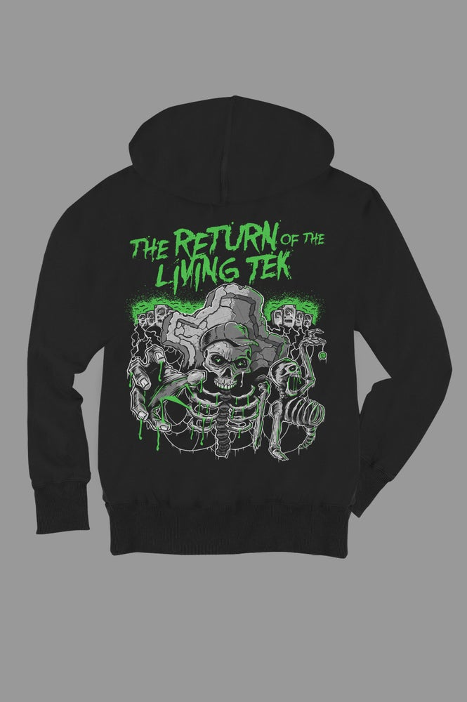Image of The Return of The Living Tek - Zip Hoodie