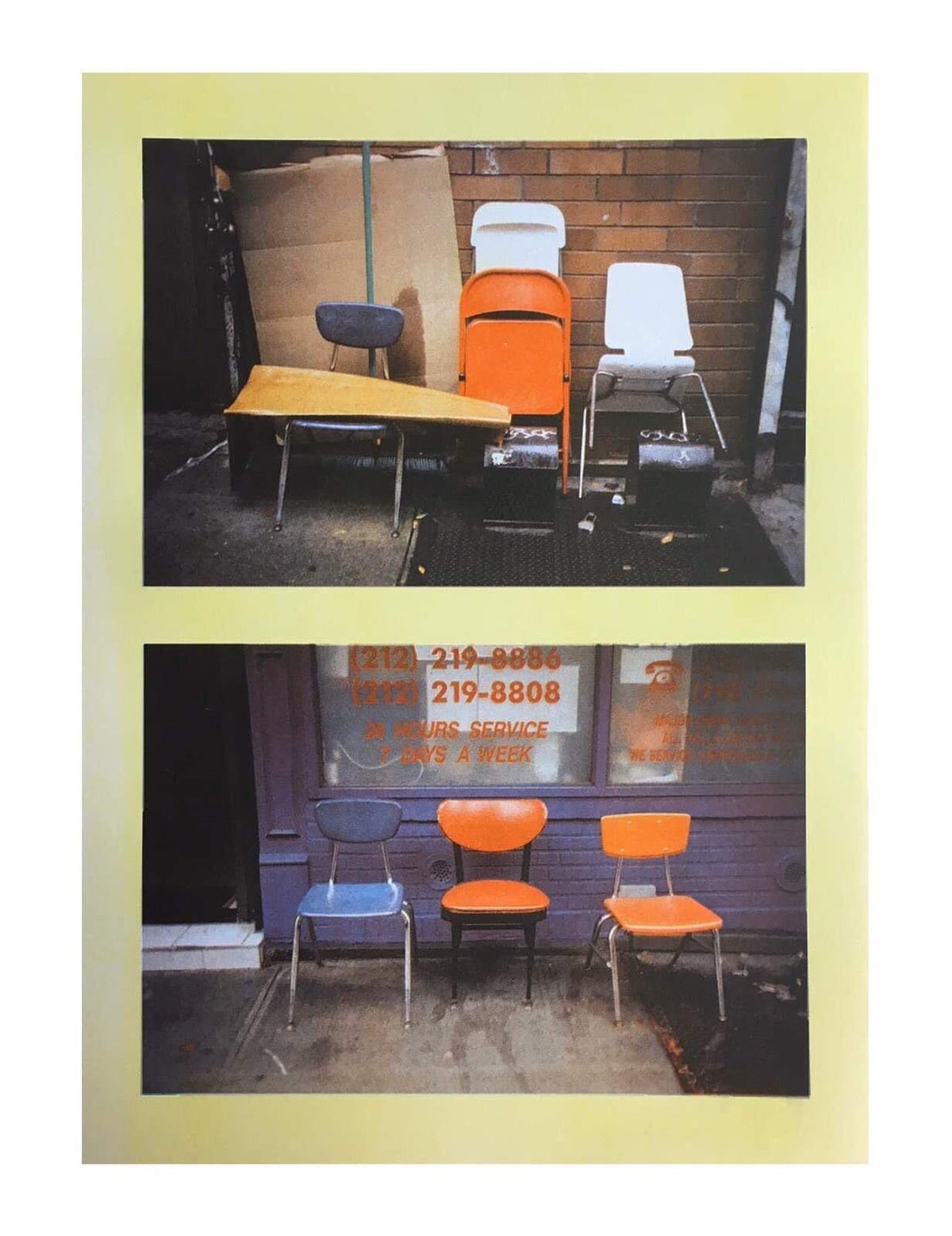 Image of 6 Chairs in Chinatown