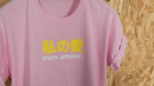 Image of Mon amour / Rose Pale By FCKRS®