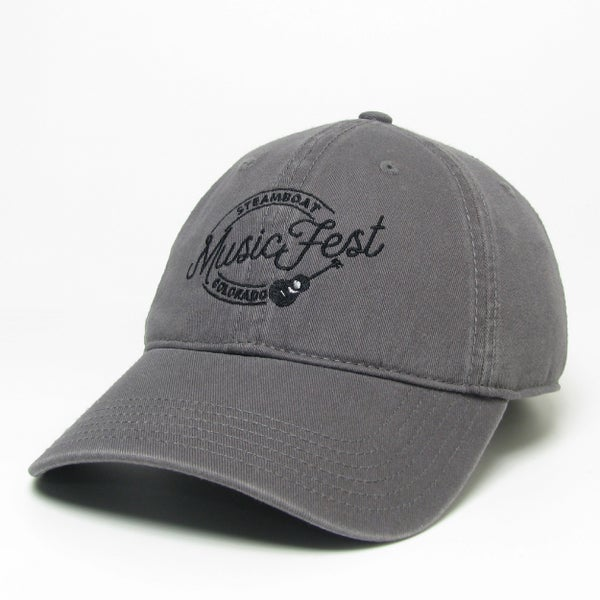 Image of Grey hat with MusicFest logo