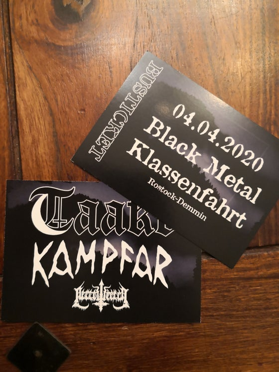 Image of Bustickets Taake/Kampfar Tour 23.01.2021