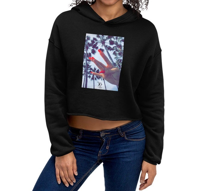 Image of West Side Crop Hoodie