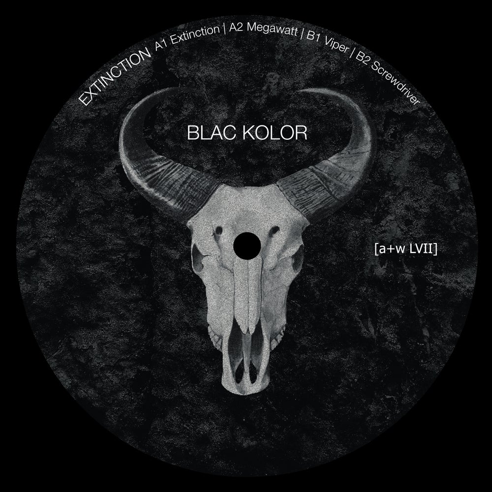"Image of [a+w LVII] Blac Kolor - Extinction 12"" (out: 28.02.2020)"
