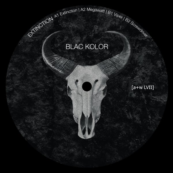 Image of [a+w LVII] Blac Kolor - Extinction 12""