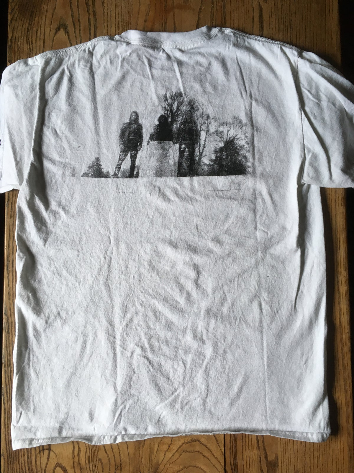 """Image of CHTHONIC DEITY """"Reassembled In Pain"""" WHITE Shirt"""