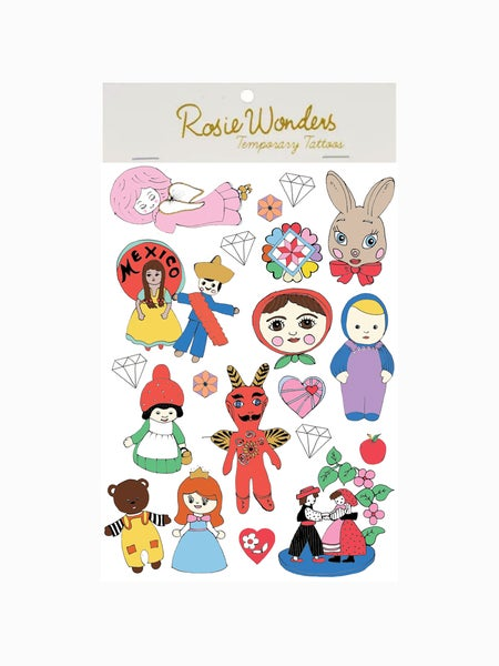 Image of Fairytale A6 Temporary Tattoos