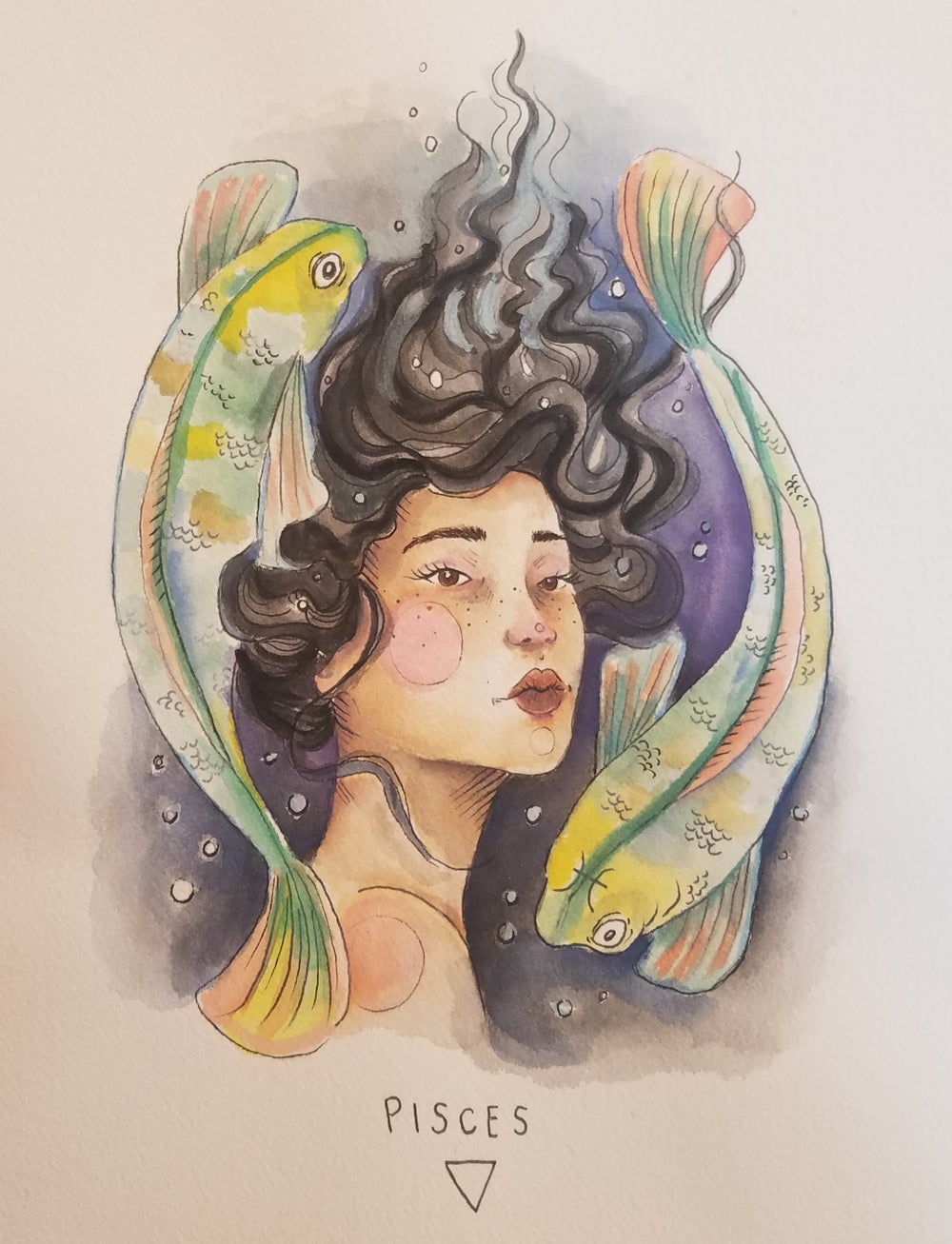 Image of Pisces Print