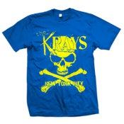 "Image of KRAYS ""New York City"" Royal Blue T-Shirt"