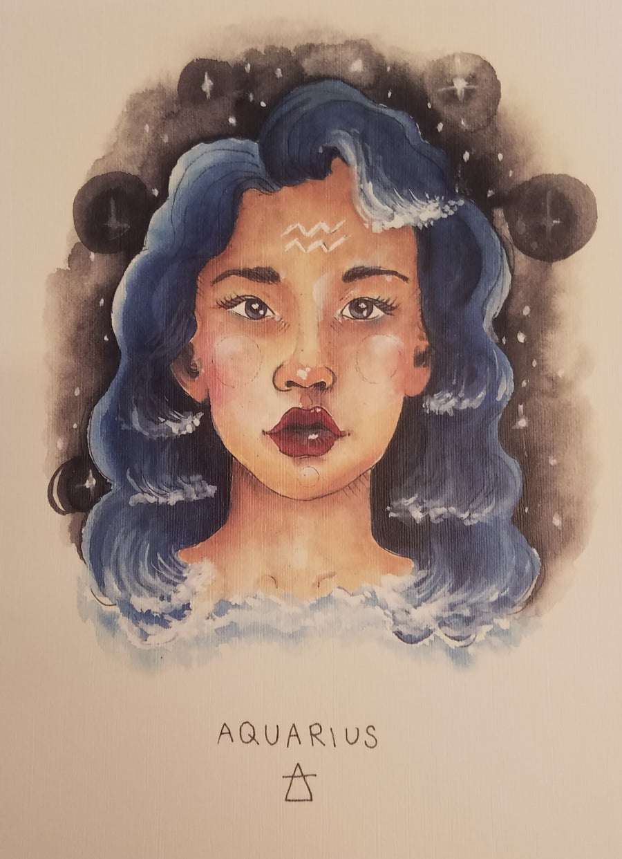 Image of Aquarius Print