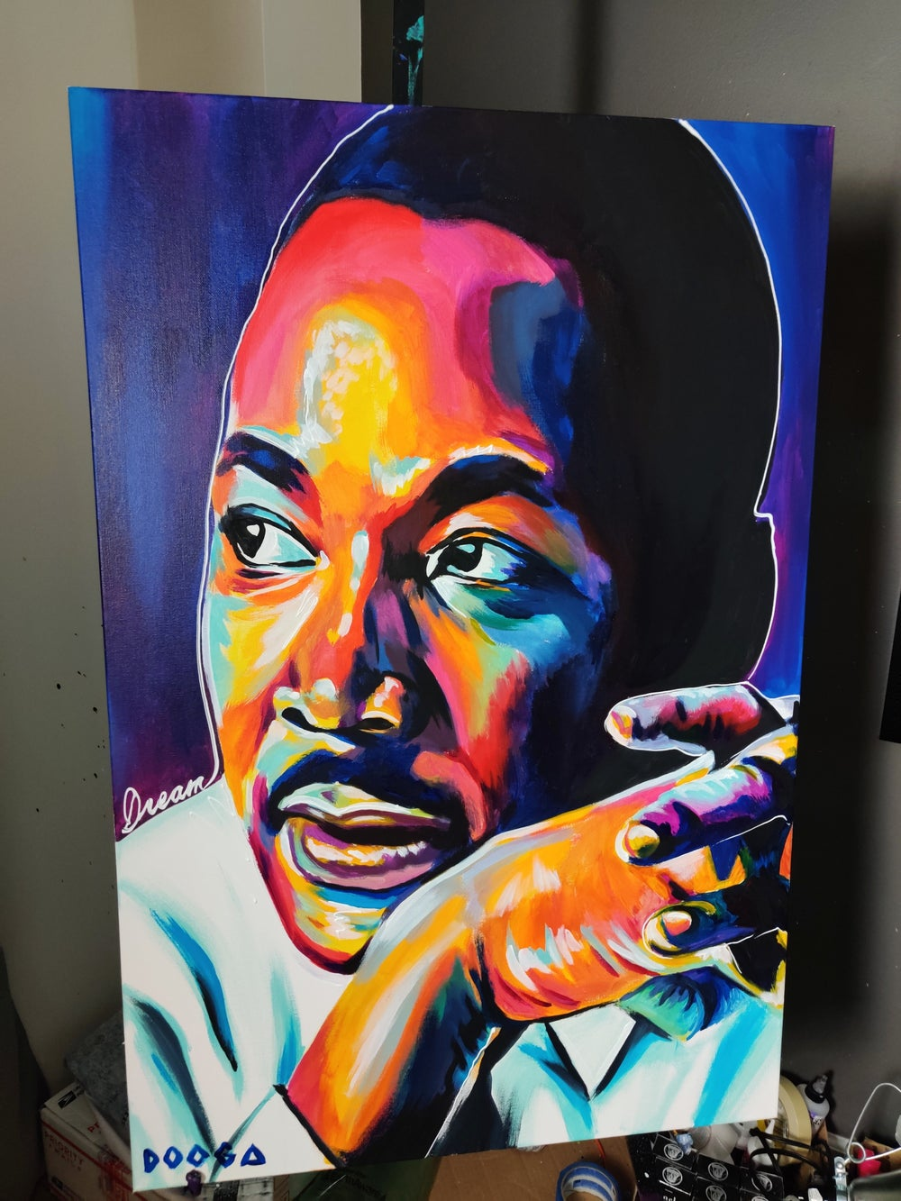 Image of MLK - Canvas Print