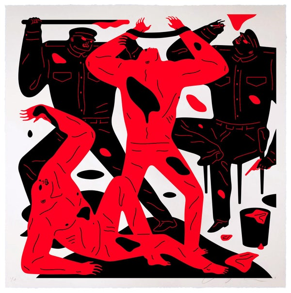 Image of Cleon Peterson - TO TELL THE TRUTH - Artist Proof