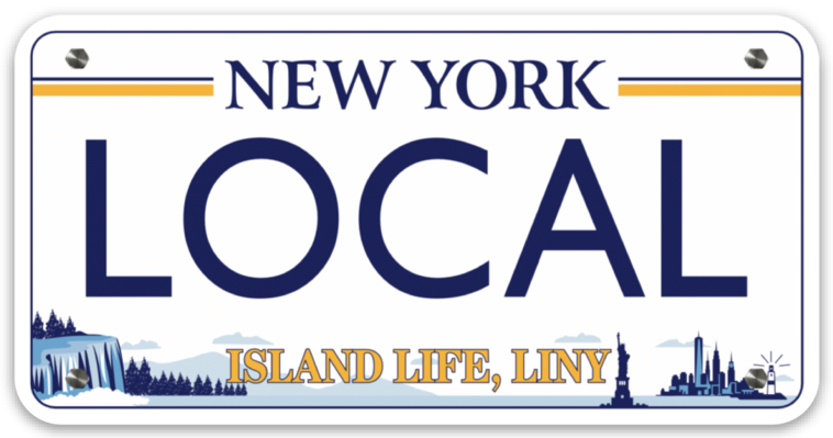 Image of LOCAL License Plate Decal