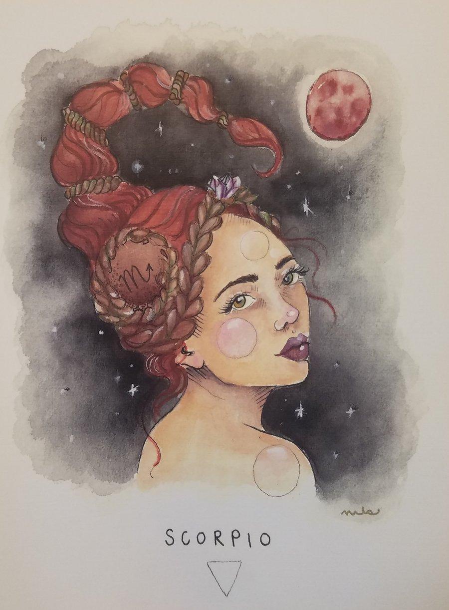 Image of Scorpio Print