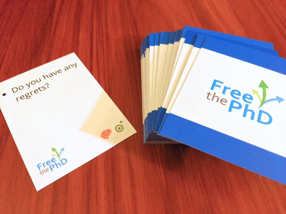 Image of Free the PhD Interview Prep Deck