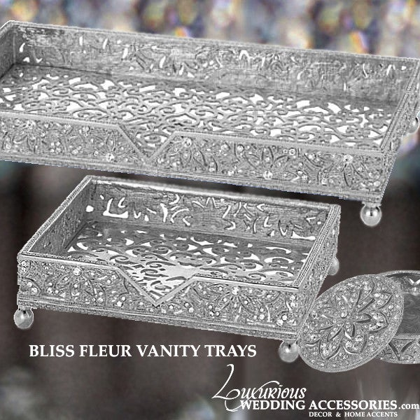 Image of Bliss Fleur Vanity Trays