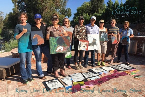 Image of Portland Area Painting Workshop with Kimry Jelen