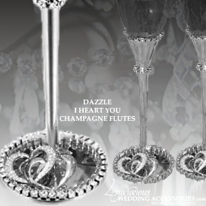 Image of Dazzle I Heart You Wedding Collection