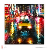 Image of 'Tokyo Taxi' - Limited edition print