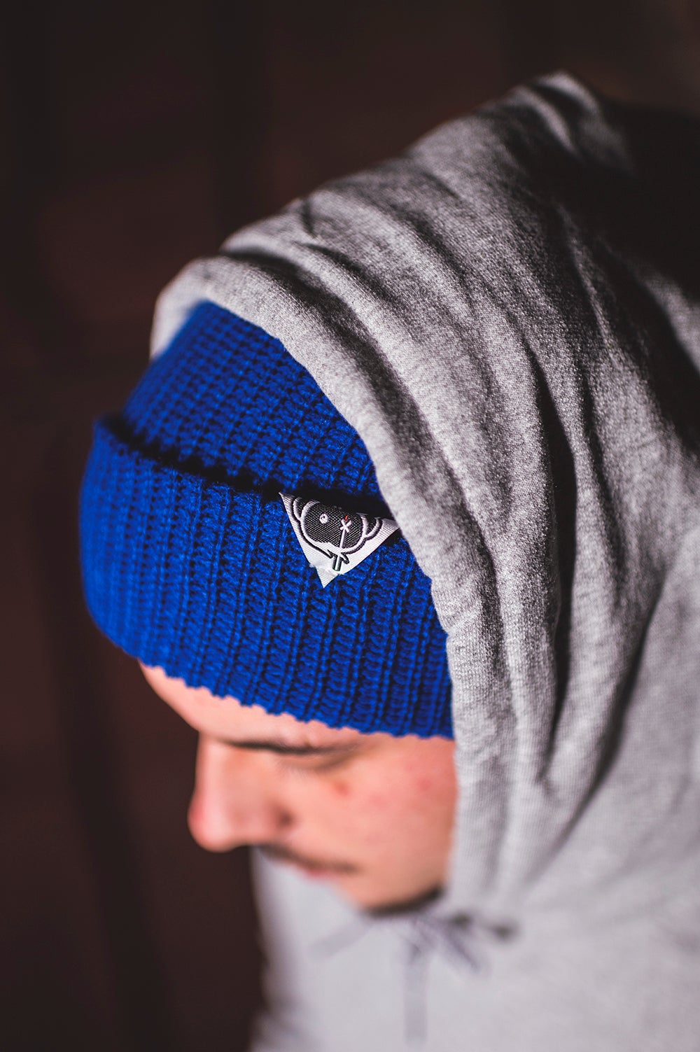 Image of Monkey Climber Cousteau beanie I Royal Blue
