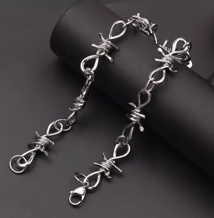 Barbed Wire necklace choker WAS £14.99 now £9.99
